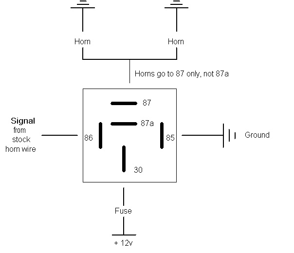 Wiring Diagram For Narva Relay : Hella horn diy page