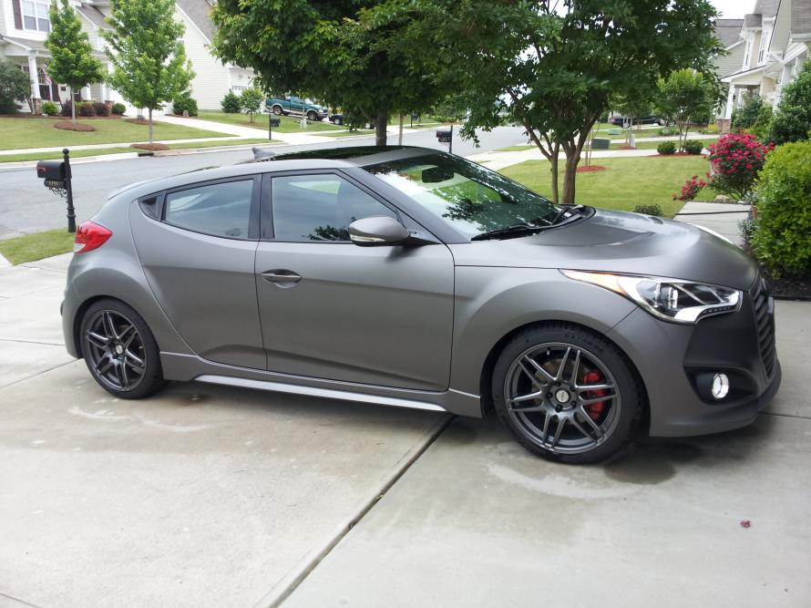 Matte Gray Veloster Turbo For Sale