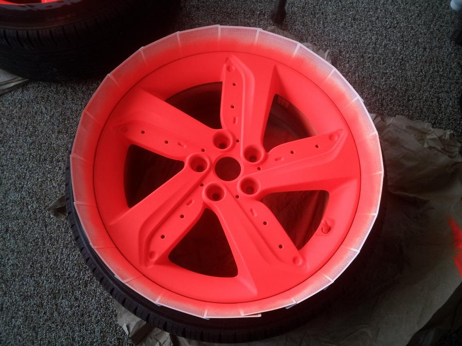 High Gloss Blaze Orange Plasti Dip