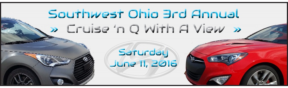 Southwest Ohio 3rd Annual: Cruise 'n Q with a View (June