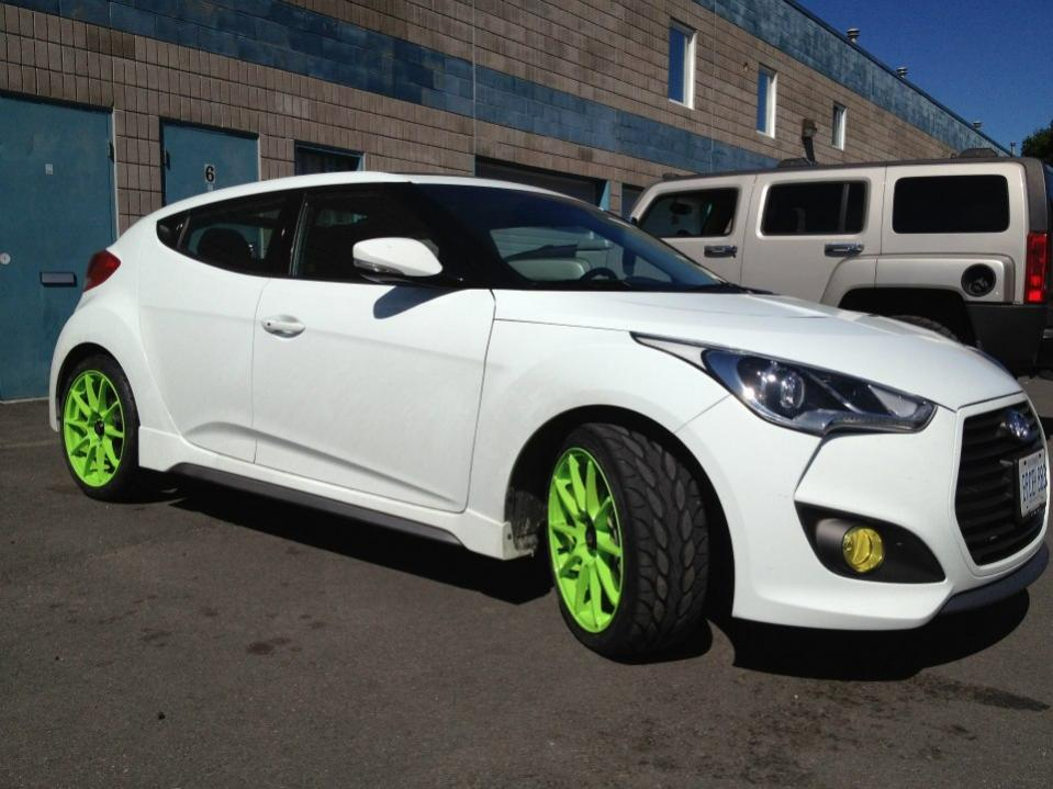 Everyone With A White Veloster Turbo Post Up Page 4