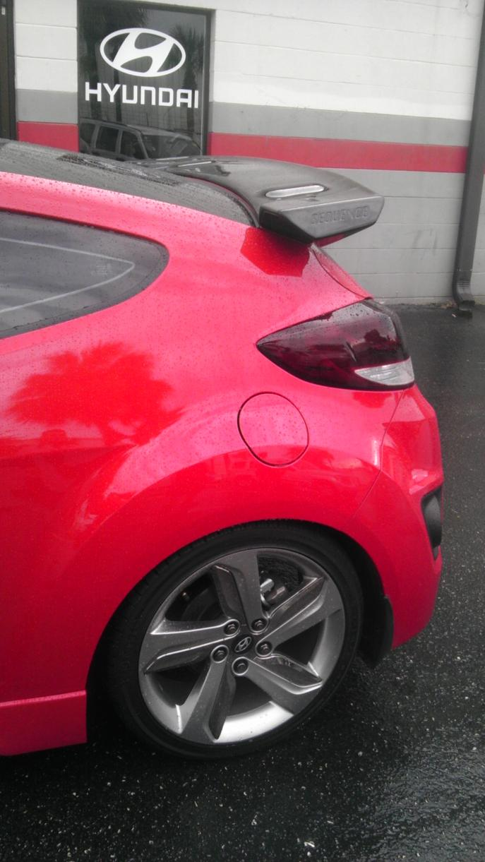D My Boston Red Vt Without Sequence Devil Spoiler Allan on Acura Integra Turbo