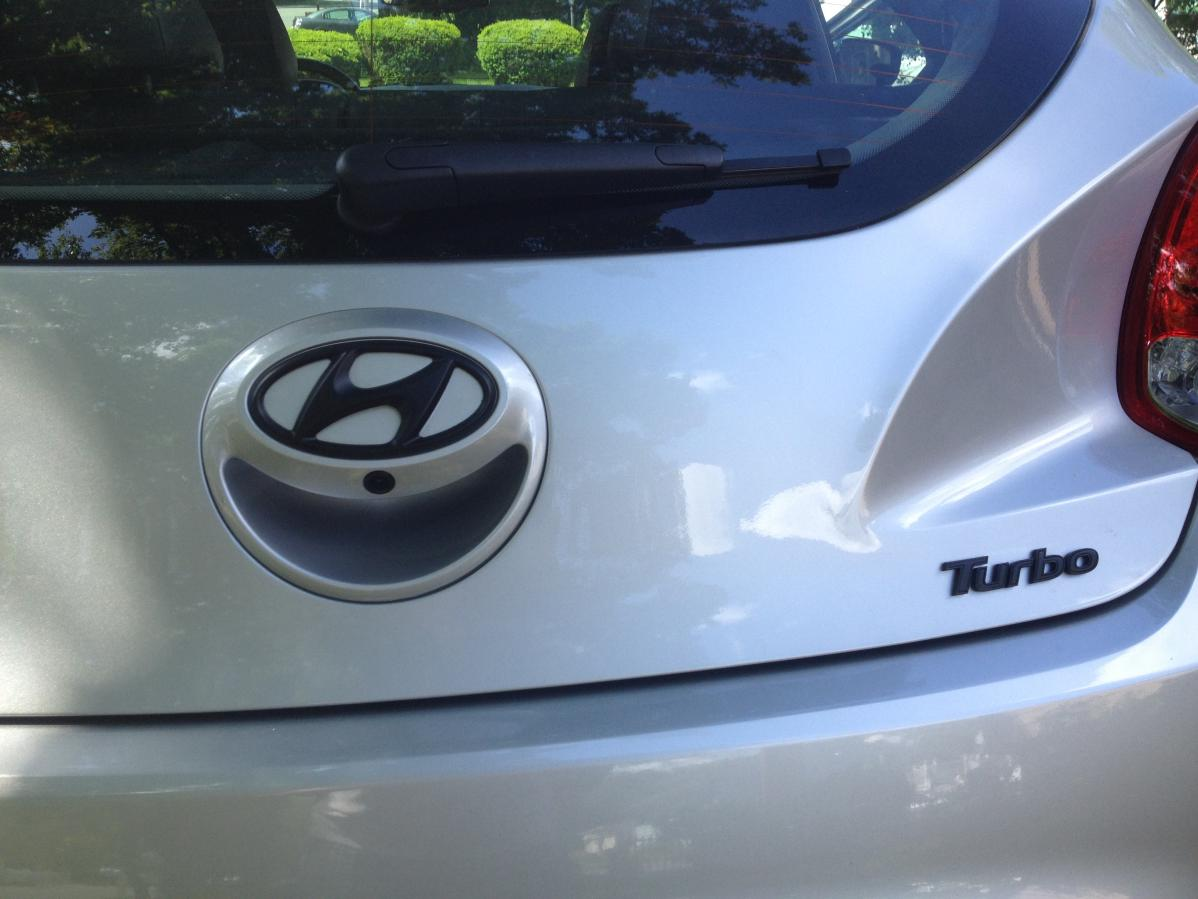 Plasti Dipped Emblems And Lost Veloster