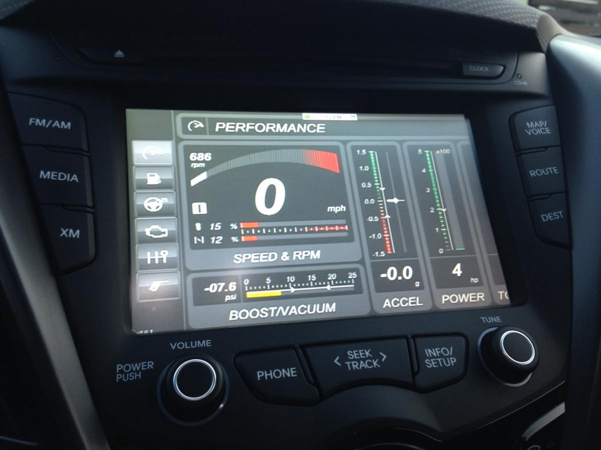 Boost Gauge On Head Unit Page 2
