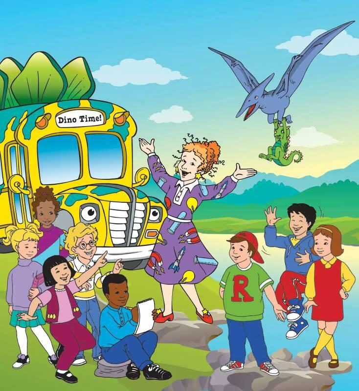The Magic School Bus Kids Names Funny How The Magic School Bus