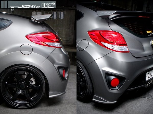 BTRcc] Sequence Veloster turbo spolier | Veloster Turbo Forum