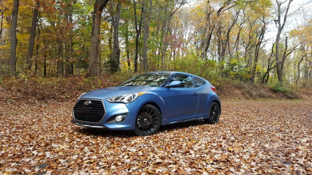 Matte paint, roof rack or trunk bicycle rack durability  | Veloster